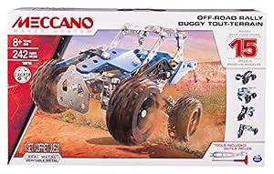 MECCANO - Juguete Todoterreno ATV (Bizak 61929177)