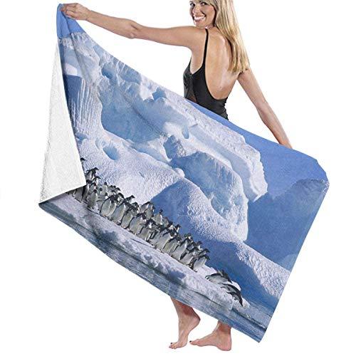 sd4r5y3hg Luxury Oversized Beach Towels, Women's Bath Towel Wrap - Penguin HD Travel Waffle Spa Beach Towel Wrap for Girls 31\