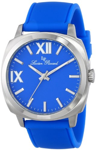 Lucien Piccard Women's LP-20032-03-BU St. Tropez Analog Display Japanese Quartz Blue Watch