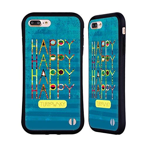 Ufficiale Turnowsky Amore Splash Case Ibrida per Apple iPhone 7 / iPhone 8 Felice