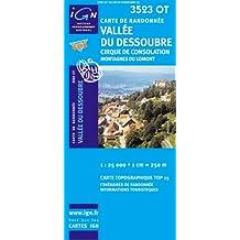 Vallée du Dessoubre 1 : 25 000: Cirque de consolation / Montagnes du lomont: IGN.3523OT