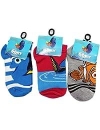 hot sale online e6001 867c8 Collezione di Calze per Bambini Assortiti Dory di Pixar (Dimensioni Calza  6-8,