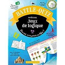 Battle-Quiz Jeux de Logique - Cahier de vacances