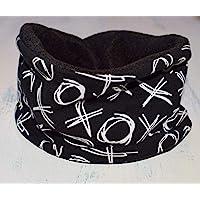 Braga de cuello negra ajustable en niños de 1 año hasta 8