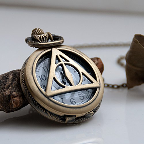 Collar reloj Reliquias de la Muerte Harry Potter Modelo 2