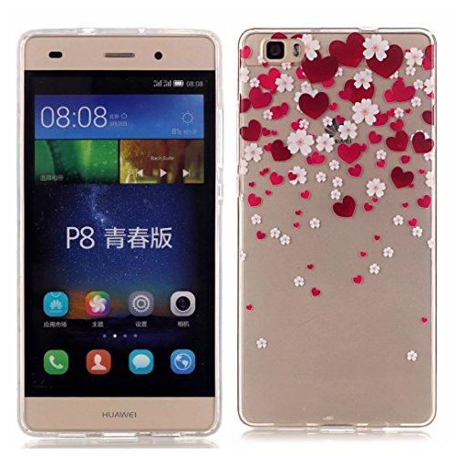 KSHOP Per Huawei p8 lite Custodia Conchiglia fit ultra sottile