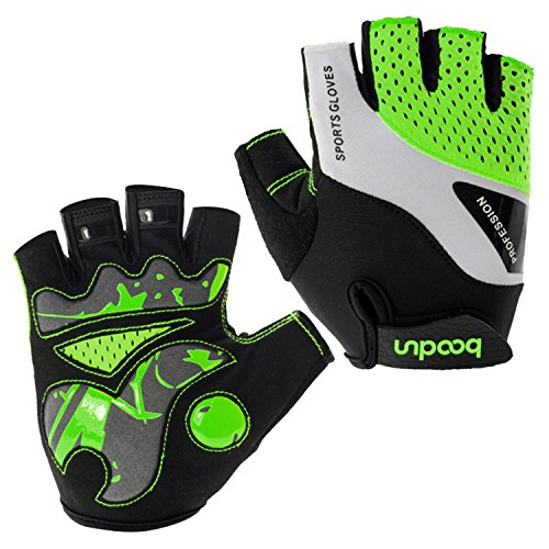 Eroilor Guantes Ciclismo Hombres Mujeres Half Finger-Guantes