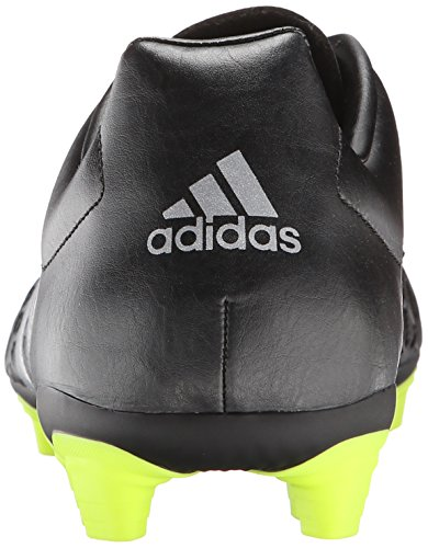 Adidas Performance Ace 15.4 Chaussures de football Core Black/Silver Metallic/Solar Yellow