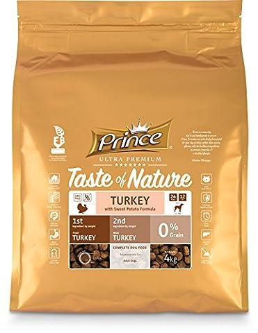Prince Ultra Premium Croquettes Taste of Nature dinde & Patate Douce M/L