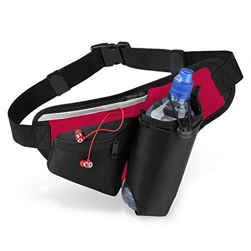 Teamwear Hydro Belt Bag Quadra QS20 - Black / Red