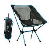 Campingstuhl, OUTAD Klapp Campingstuhl Leichte Tragbare für Outdoor Wandern Angeln Picknick Strand (