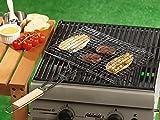 EDCO 871125295191–Cestino metallo griglia per barbecue, 35x 24cm