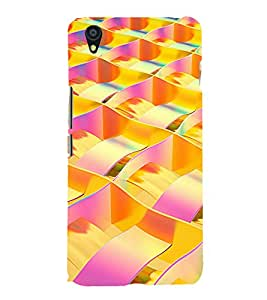 printtech Abstract Design Back Case Cover for One Plus X