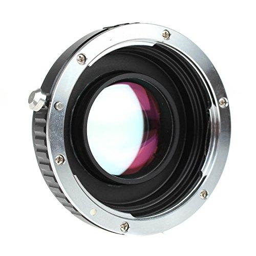 Quenox Fokalreduktor-Adapter für Canon-EF-Objektiv an Fuji-X-Mount-Kamera