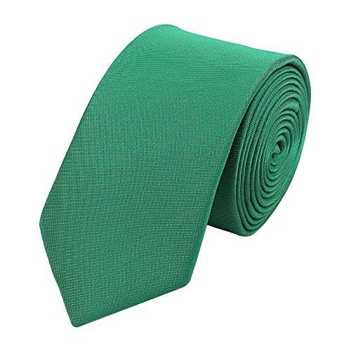 Fabio Farini Cravate de en vert-turquoise 6 cm