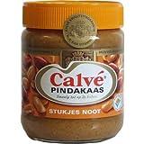 Calvé Erdnussbutter mit Stückchen 350g (Pindakaas Stukjes Noot)