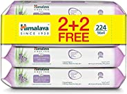 Himalaya Soothing & Protecting Baby Wipes Alcohol & Paraben Free Enriched with Aloe Vera and Lavender