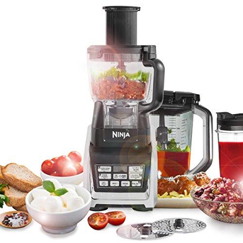 Ninja - Procesador de Alimentos con 1500W de Potencia y Auto IQ - BL682EU2