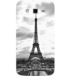 Casotec Paris City Design Hard Back Case Cover for Samsung Galaxy Grand 2 G7102 / G7105