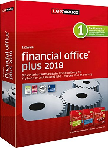 LEXWARE financial office plus 2018 Jahresversion 365-Tage - Software Business Inventory
