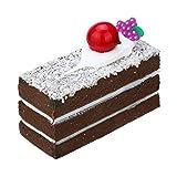 Auied Lernspielzeug Squishies-Kuchen-Regenbogen-Riesige Langsam Steigende Kawaii Duftende KäSe-Squishies Dekompressionsspielzeug