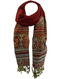 Toutacoo, Extra Large Cashmere Patterned Scarf