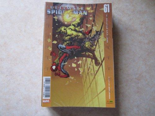 ULTIMATE SPIDER MAN N° 61 la mort d'un bouffon 3 (dec 2008) par BRIAN M BENDIS