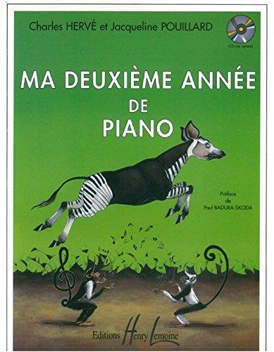 Charles Hervé : Ma 2Ème Année De Piano - Partitions par  Henry Lemoine
