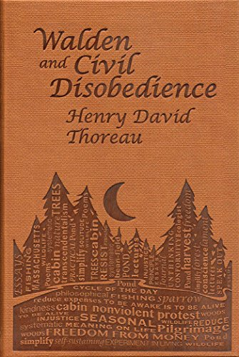 Walden and Civil Disobedience (Word Cloud Classics) por Henry David Thoreau