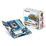 Gigabyte GA-B75M-D3H Sockel 1155 Mainboard (micro-ATX, 4x DDR3 Speicher, HDMI, DVI-D, SATA III, 4x USB 3.0)