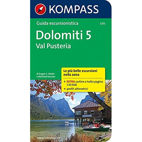 Guida Escursionistica Dolomiti, Val Pusteria