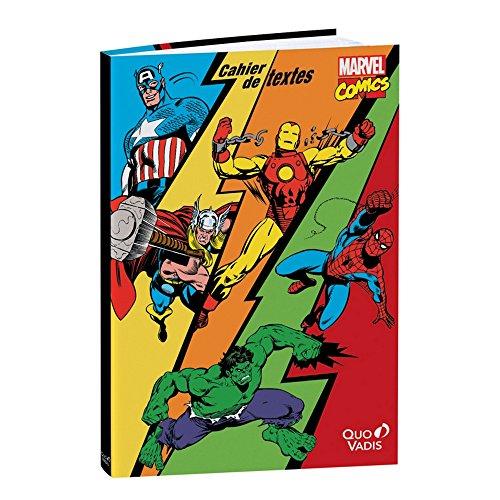 Quo Vadis : Marvel Comics - Cahier de textes 15 x 21 cm