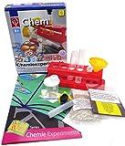 EDU-TOYS Kleiner Experimentierkasten Chemie Experimente mit Alltagsgegenständen Chemielabor für Kinder ab 8 Jahren