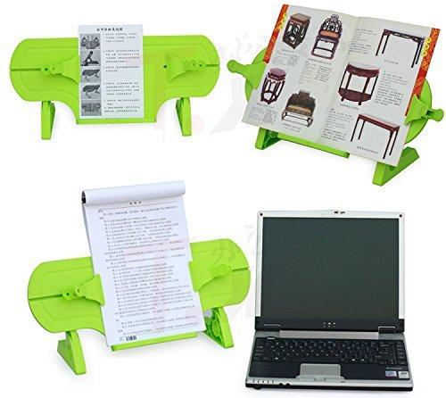 PDHU Verstellbarer Buch-Halterung Universal ideal für Kinder Kinder (grün) (Verstellbare Kinder Bücherregale)