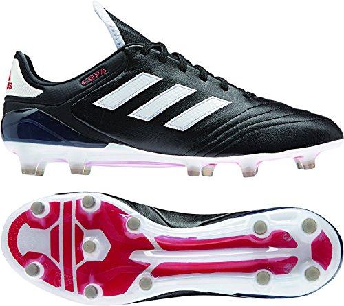 adidas Herren Copa 17.1 Fg für Fußballtrainingsschuhe Schwarz (Negbas/ftwbla/Rojo) 43 EU