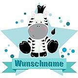 Samunshi/® Lila Eule Wandtattoo T/ürschild mit Name personalisierbar Kinderzimmer T/üraufkleber Baby Wandaufkleber in 9 Gr/ö/ßen 25x22cm Mehrfarbig