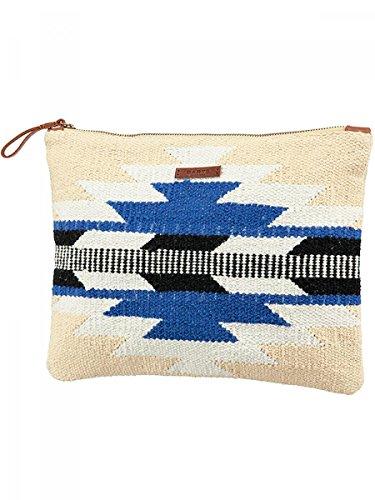 Barts-Borsetta in tela in cotone stampato, colore: blu, 22 x 30 cm, modello/ragazzo/donna, colori Blu