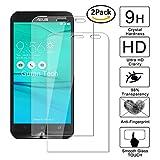 [2 Pack] Guran Glass Protector pour Asus ZenFone Go ZB552KL 2017 (5.5inch) Smartphone Screen Verre Trempé Protecteur d'écran Résistant aux éraflures