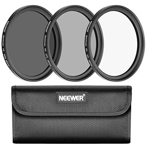 Neewer für DJI Zenmuse X5 X5R Kamera / Inspire 1 PRO, RAW Quadcopter Filter Set mit mehrfach beschichtetem und Ultrahohem Definition Glas, beinhaltet UV, CPL und ND8 Filter