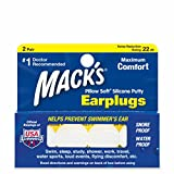 Macks Pillow Soft Moldable Silicone Putty Earplugs 2 Paare x1