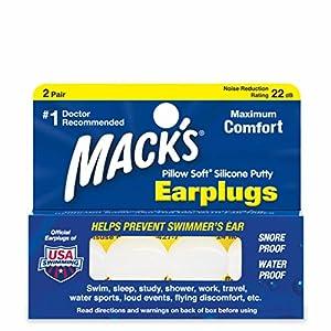 Mack's Pillow Soft – Ohrenstöpsel – für Erwachsene