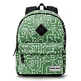 PRODG Geek-Sac à dos Freestyle Sac à dos loisir, 42 cm, 21 litres, Vert