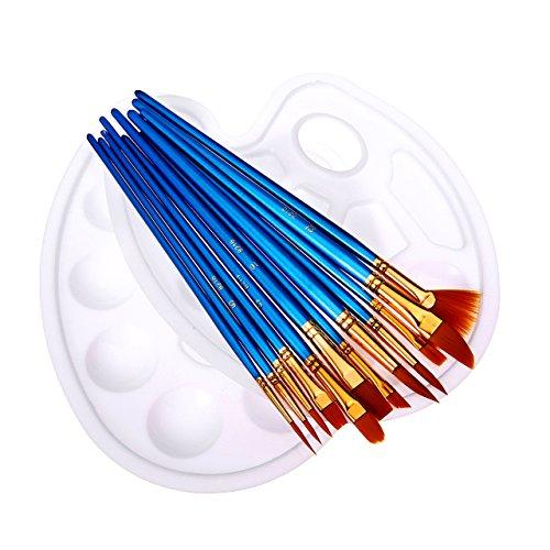 Beauty & Gesundheit Acryl-pulver & -liquids Nailart-pinsel Für Feine Pinselmalerei °hellblau° Gr.1 Ideales Geschenk FüR Alle Gelegenheiten