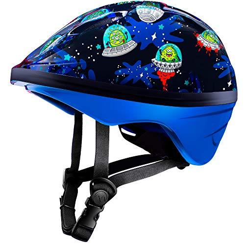 OutdoorMaster klein Kind Helm, Spaß-Design Fahrradhelm für Kinder (Alter 3-5) - Skate Helm Radhelm für Jungen Mädchen- mit 14 Lüftungsöffnungen für mehr Komfort -...