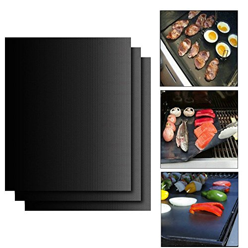 non-stick-baking-mat-jtdeal-3-sets-of-professional-bakeware-cooking-sheets-tray-liner-reusable-heat-
