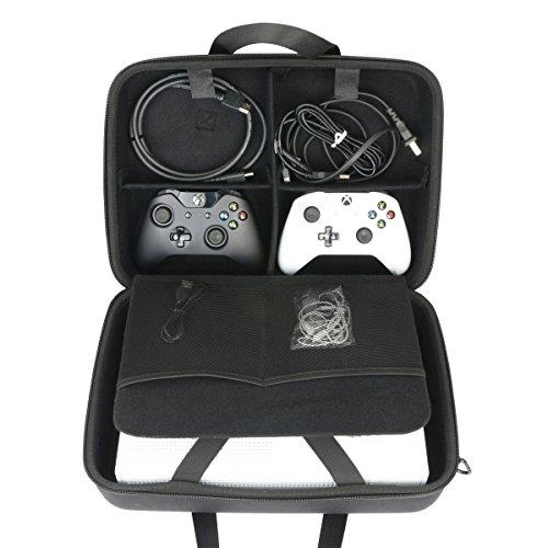 Khanka Case Tasche Schutzhülle für Für Xbox One X oder Xbox One S Konsole.(nur tasche)