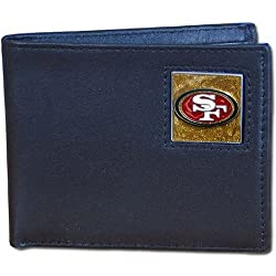 NFL San Francisco 49ers Leather Bi-fold Wallet