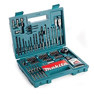 Makita B-53811 Accessory Set, Multi-Colour 100 Piece