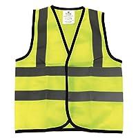 Kids High Visibility Hi Viz Safety Vest Top Hi Vis Baby Toddler Waistcoat Childrens Yellow Reflective vest
