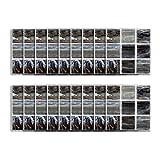 Pegatinas de Azulejos 10 10 cm Autoadhesivo Etiqueta de la Pared a Prueba de Agua DIY Mármol Negro Mosaico Wallpaper Wallpaper Decoración para baño Cocina Piso Pared de la casa